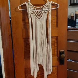 Sleeveless cardigan great condition